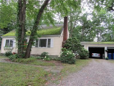 Tolland Single Family Home For Sale: 247 Mountain Spring Road