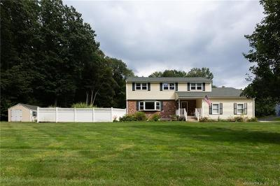 South Windsor Single Family Home For Sale: 155 Wood Pond Road
