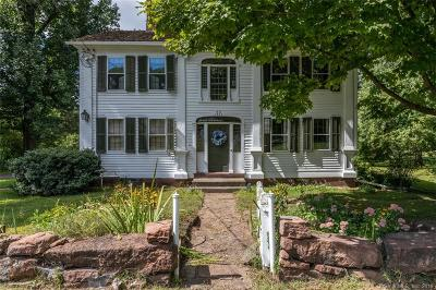 Avon, Farmington, Simsbury Single Family Home For Sale: 57 East Weatogue Street