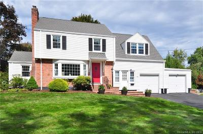 West Hartford Single Family Home For Sale: 42 Ellsworth Road