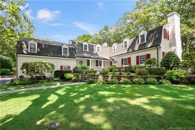 Darien Single Family Home For Sale: 103 Pembroke Road