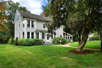 Simsbury Single Family Home For Sale: 5 East Tomstead Road