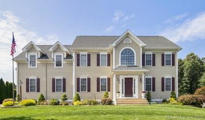 South Windsor Single Family Home For Sale: 102 Joseph Lane
