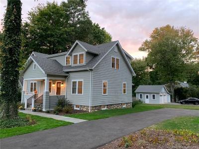 Darien Single Family Home For Sale: 49 Christie Hill Road