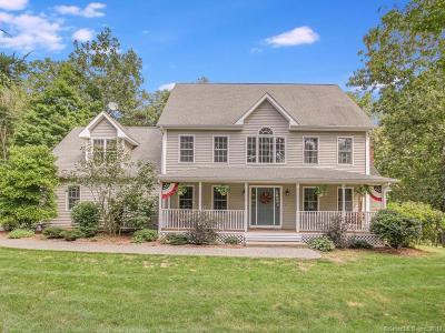 Hebron Single Family Home For Sale: 33 Coates Farm Road
