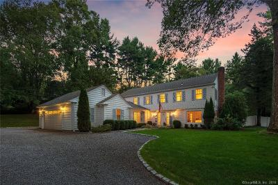 Darien Single Family Home For Sale: 4 Parsons Walk