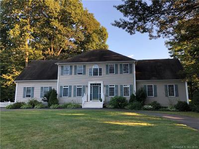 South Windsor Single Family Home For Sale: 79 Bancroft Lane