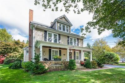 Meriden Single Family Home For Sale: 868 Paddock Avenue