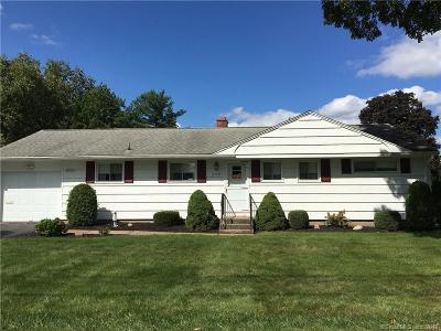 West Hartford Single Family Home For Sale: 202 Elmfield Street