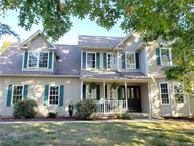 Enfield Single Family Home For Sale: 219 Broadbrook Road