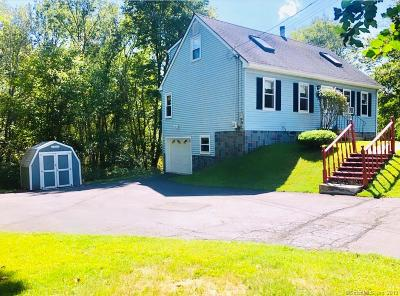 Meriden Single Family Home For Sale: 1267 North Colony Road