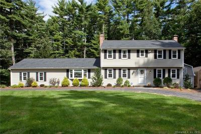 Simsbury Single Family Home For Sale: 34 Long View Drive