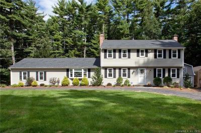 Avon, Farmington, Simsbury Single Family Home For Sale: 34 Long View Drive