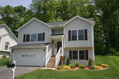 Tolland Condo/Townhouse For Sale: 39 Belvedere Drive #39