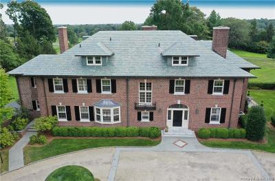 Darien CT Single Family Home For Sale: $5,495,000