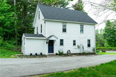 Glastonbury Single Family Home For Sale: 1686 Hebron Avenue