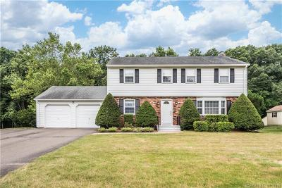 South Windsor Single Family Home For Sale: 49 Juniper Lane