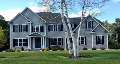 South Windsor Single Family Home For Sale: 4 Gilbert Lane