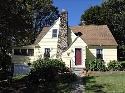 Fairfield County, New Haven County Single Family Home For Sale: 55 Middlebury Terrace
