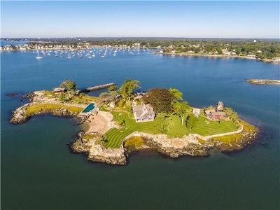 Norwalk Single Family Home For Sale: # Tavern Island