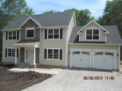 Middlebury Single Family Home For Sale: Lot 7 Washington Drive