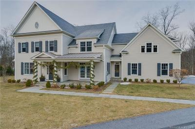 New Canaan CT Single Family Home For Sale: $2,185,000