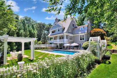 Westport CT Single Family Home For Sale: $3,845,000