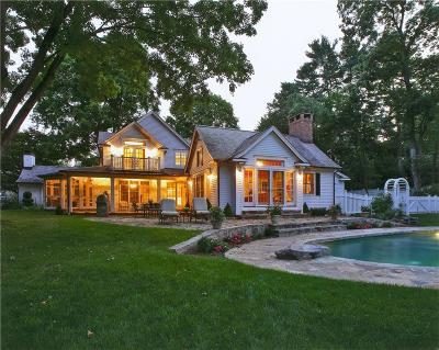 Westport CT Single Family Home For Sale: $3,550,000