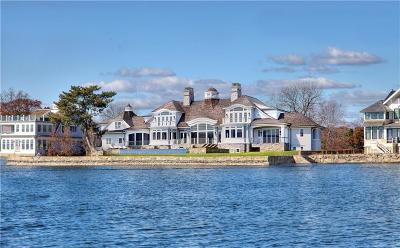 Fairfield County Single Family Home For Sale: 17 & 20 Owenoke Park