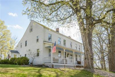 Fairfield County Single Family Home For Sale: 57 Obtuse Hill Road