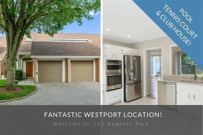 Westport Condo/Townhouse For Sale: 132 Regents Park #132