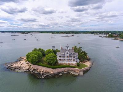 Branford Single Family Home For Sale: Wheeler Island