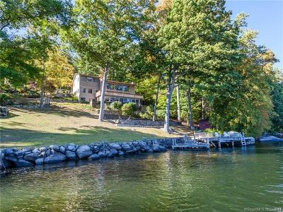 New Milford Single Family Home For Sale: 2-4 Candlewood Shore