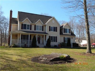 Tolland Single Family Home For Sale: 8 Hickory Court