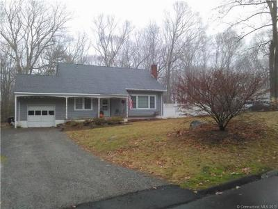 Ledyard CT Single Family Home Sold: $189,900