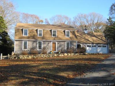 Stonington Single Family Home For Sale: 286 Montauk Avenue