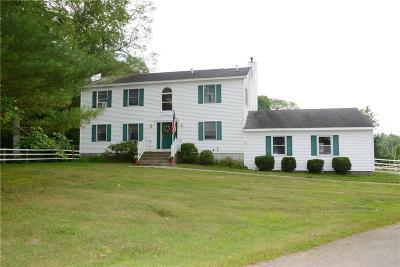 Ledyard Single Family Home For Sale: 112 Gallup Hill Rd