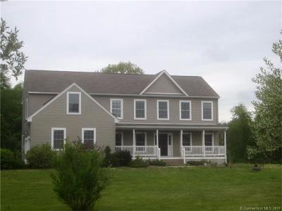 Griswold CT Single Family Home For Sale: $369,000