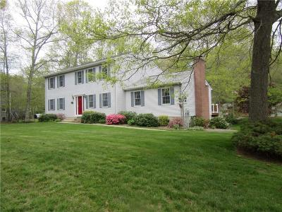 Groton Single Family Home For Sale: 834 Gungywamp Road