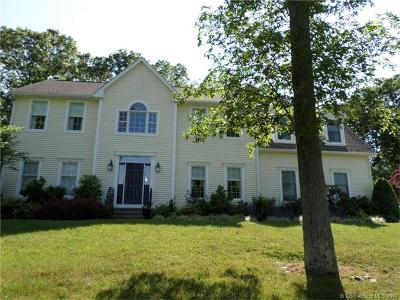 Ledyard Single Family Home For Sale: 10 Sable Drive