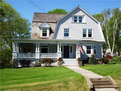 Stonington Single Family Home For Sale: 4 Reynolds Hill Road
