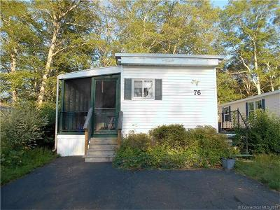 Stonington Single Family Home For Sale: 76 Circle Dr