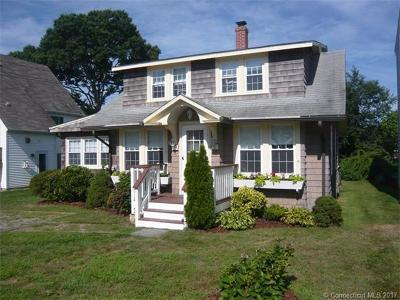 Groton Single Family Home For Sale: 14 Middlefield Street