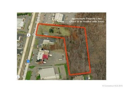 Wethersfield Residential Lots & Land For Sale: 2180 Berlin Turnpike Turnpike