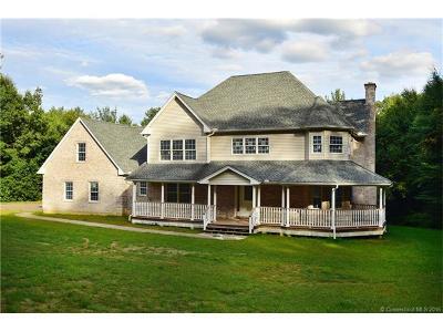 Stafford Single Family Home For Sale: 266 Diamond Ledge Road