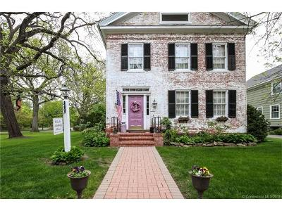 Wethersfield Single Family Home For Sale: 184 Main Street