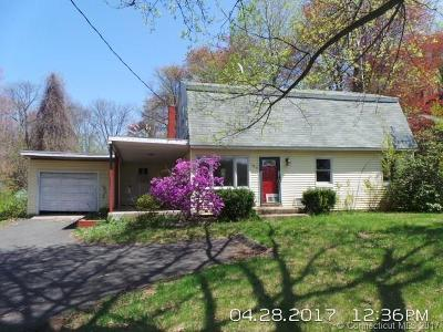 Suffield Single Family Home For Sale: 576 East Street