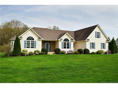 East Windsor Single Family Home For Sale: 28 Pease Road