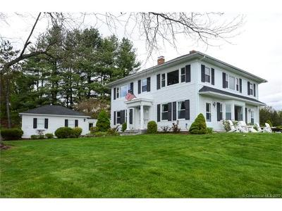 West Hartford Single Family Home For Sale: 107 Ferncliff Drive