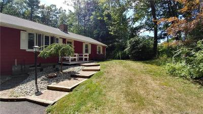 Suffield Single Family Home For Sale: 347 Griffin Road